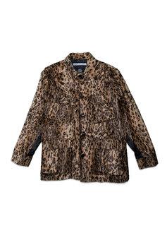 "Neighborhood BDU. Fur Jacket ""Leopard Print"""