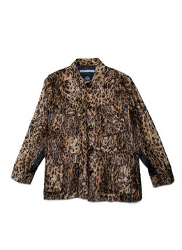 "Neighborhood BDU. Fur Jacket ""Leopard Print"""