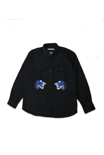 """Denim Shirt """"Black"""""""