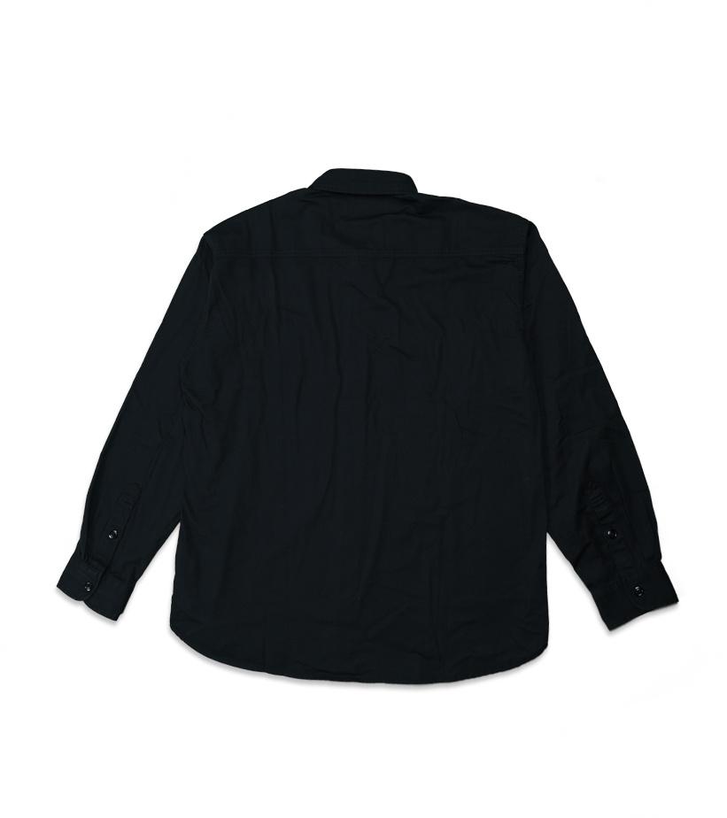 """Denim Shirt """"Black""""-2"""