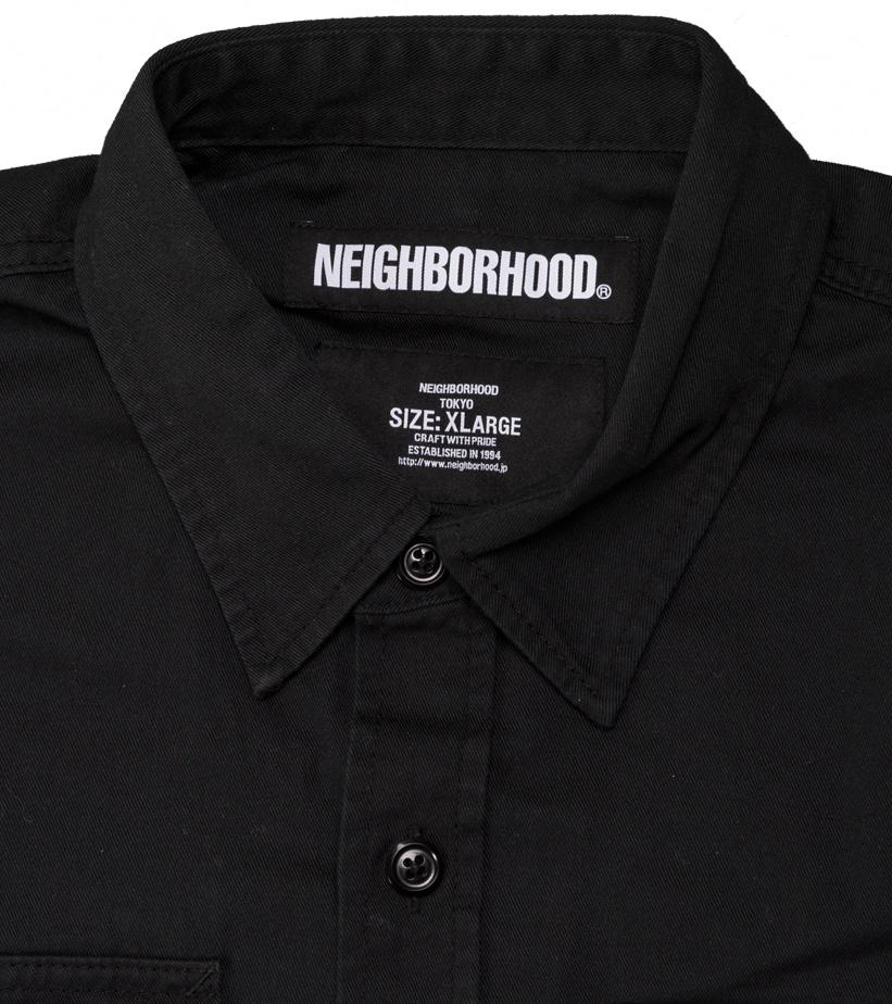 """Denim Shirt """"Black""""-3"""
