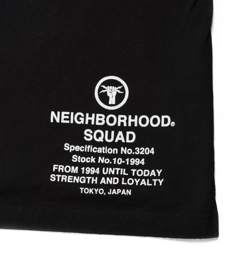 "Neighborhood Lightning LS Tee ""Black"""