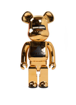 "Medicom XLarge x Hajime Sorayama 1000% Be@rbrick ""Gold"""