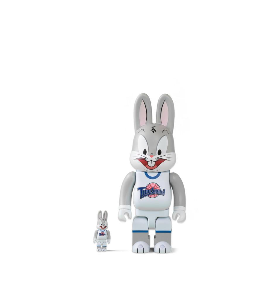"Medicom Bugs Bunny 100% & 400% Be@rbrick ""Grey"""