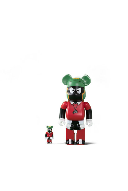 "Marvin the Martian 400% & 100% Be@rbrick ""Black/Red"""