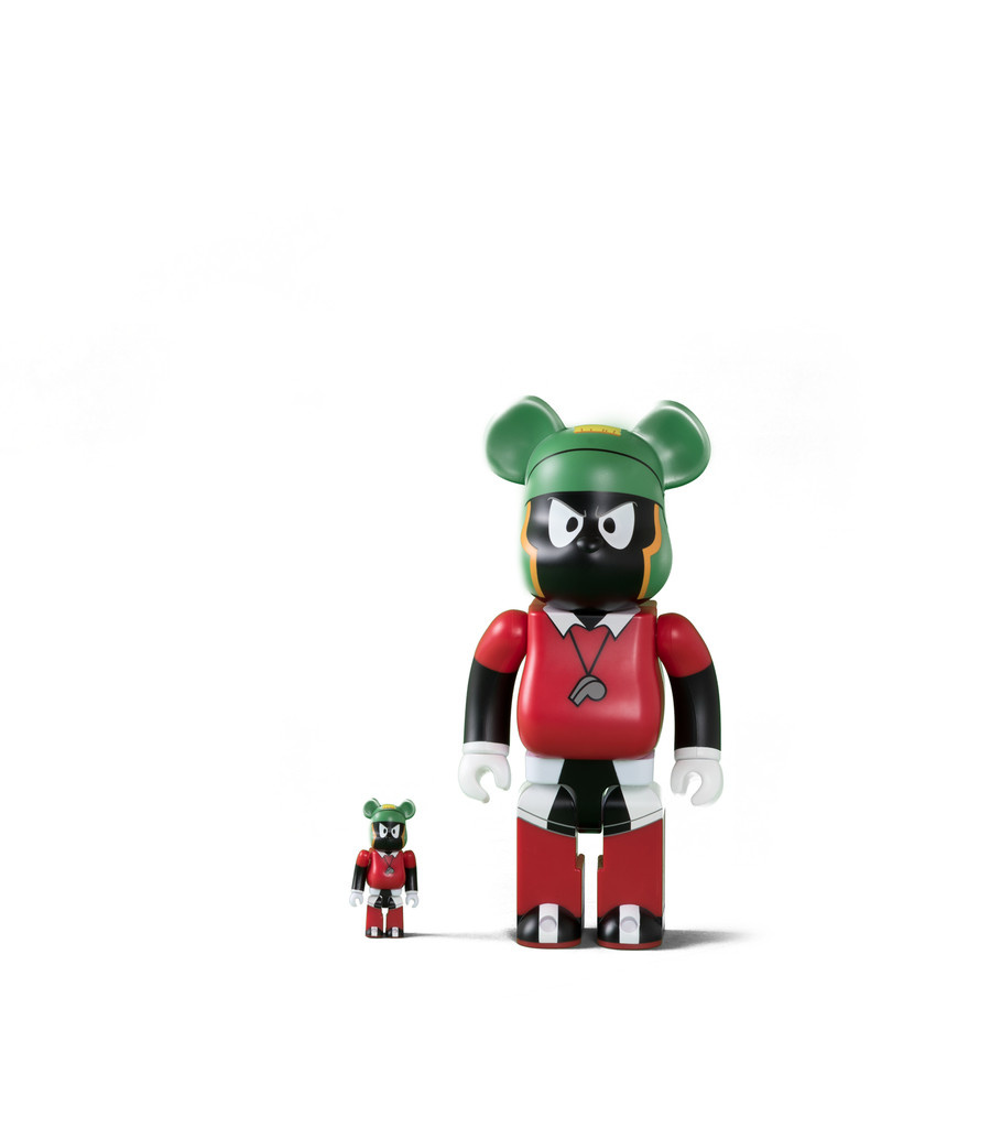 "Marvin The Martian 100% & 400% Be@rbrick ""Black""-1"