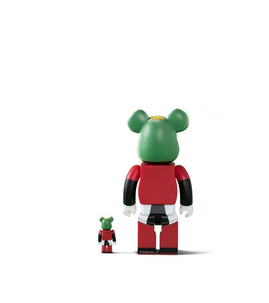 "Marvin The Martian 100% & 400% Be@rbrick ""Black""-3"
