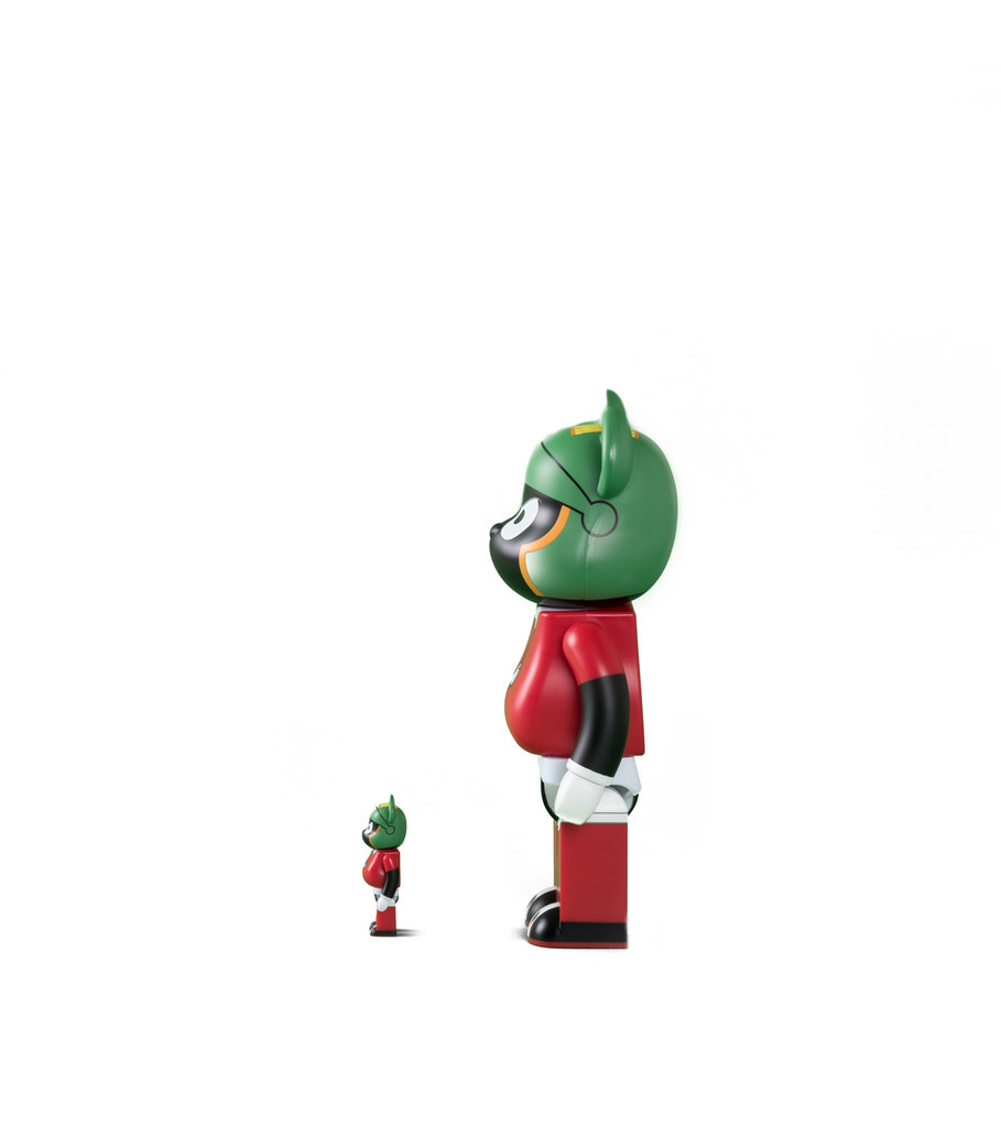 "Marvin The Martian 100% & 400% Be@rbrick ""Black""-4"