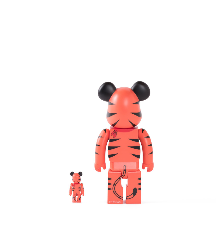 "Tony The Tiger 100% & 400% Be@rbrick ""Orange""-3"