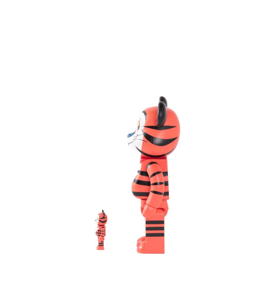 "Tony The Tiger 100% & 400% Be@rbrick ""Orange""-4"