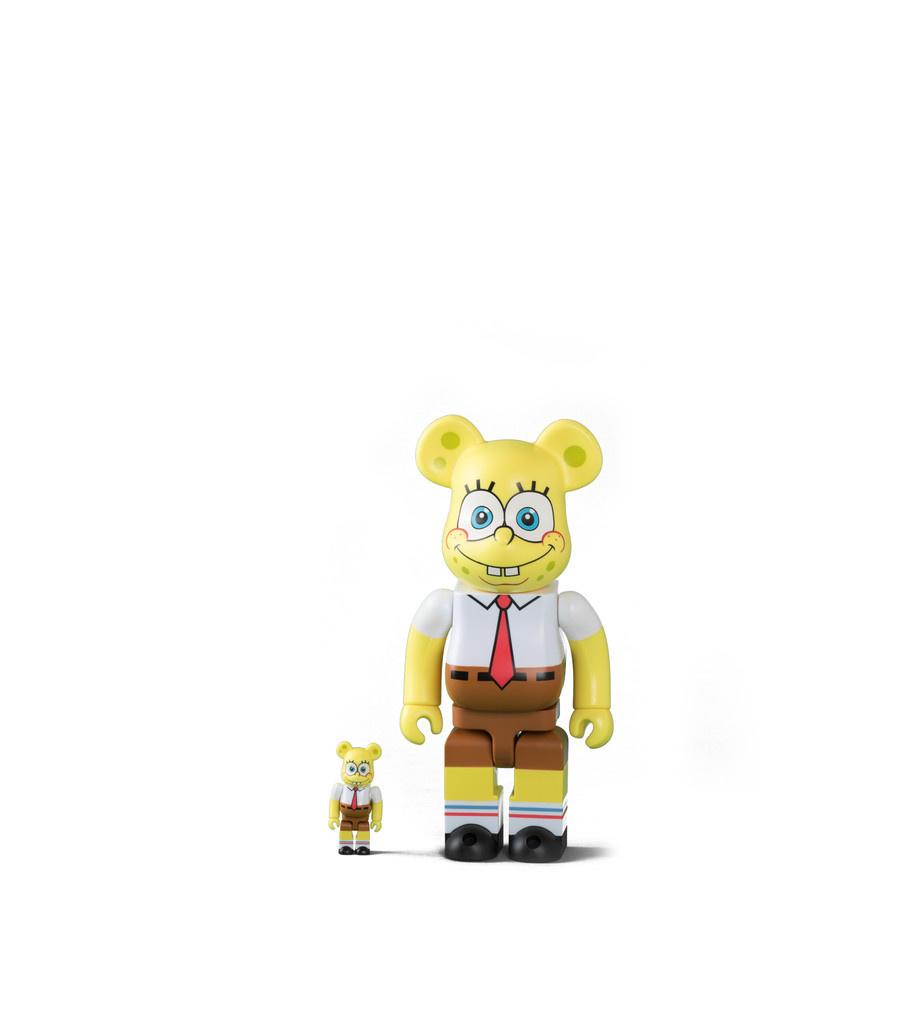 "Spongebob 100% & 400% Be@rbrick ""Yellow ""-1"