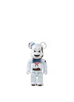 "Medicom Ghostbuster Stay Puft Marshmallow Man 400% Be@rbrick ""Anger Face"""