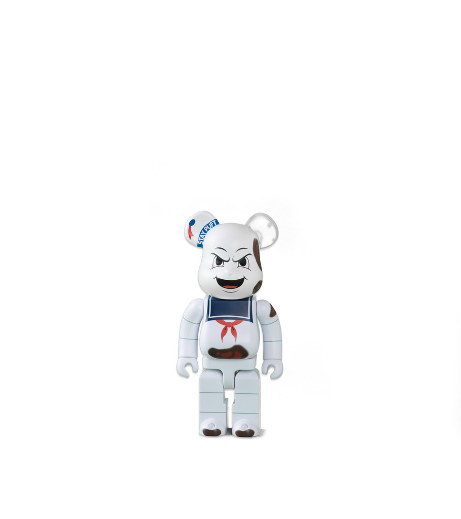 """Ghostbuster Stay Puft Marshmallow Man 400% Be@rbrick """"Anger Face""""-1"""