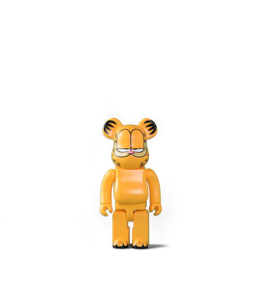 """Garfield 400% Be@rbrick """"Yellow""""-1"""
