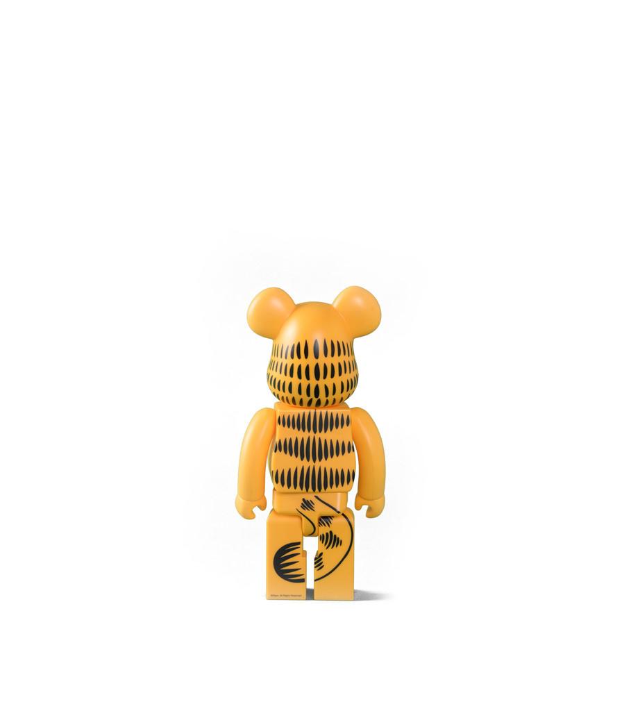 """Garfield 400% Be@rbrick """"Yellow""""-3"""