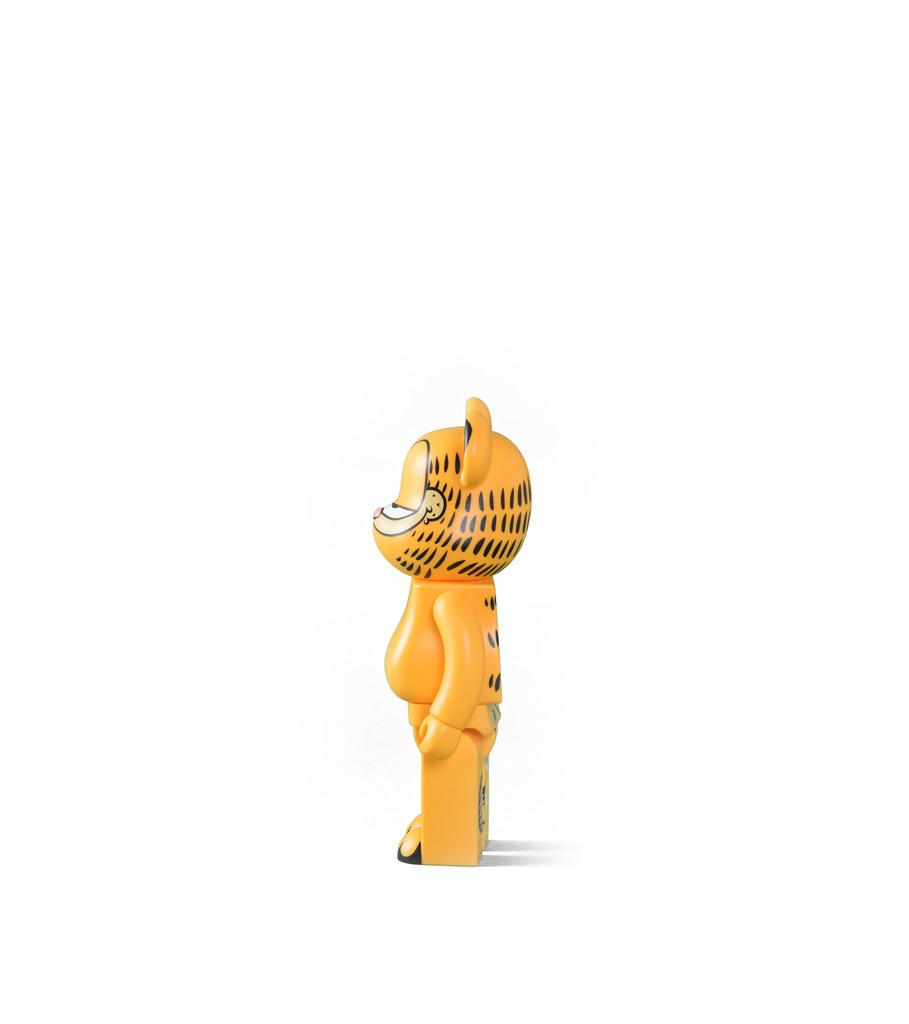 """Garfield 400% Be@rbrick """"Yellow""""-4"""