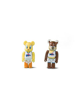 "Medicom Tweety & Taz 100% Be@rbrick ""Mix"""