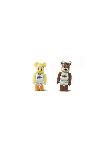 "Tweety & Taz 100% Be@rbrick ""Mix"""