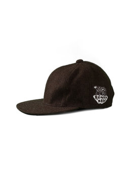 "Human Made Wool Blend Cap ""Brown"""