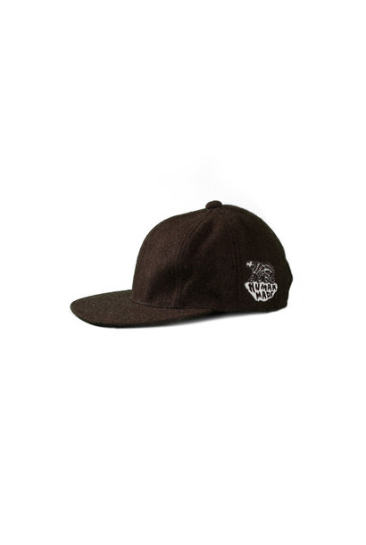 "Wool Blend Cap ""Brown"""