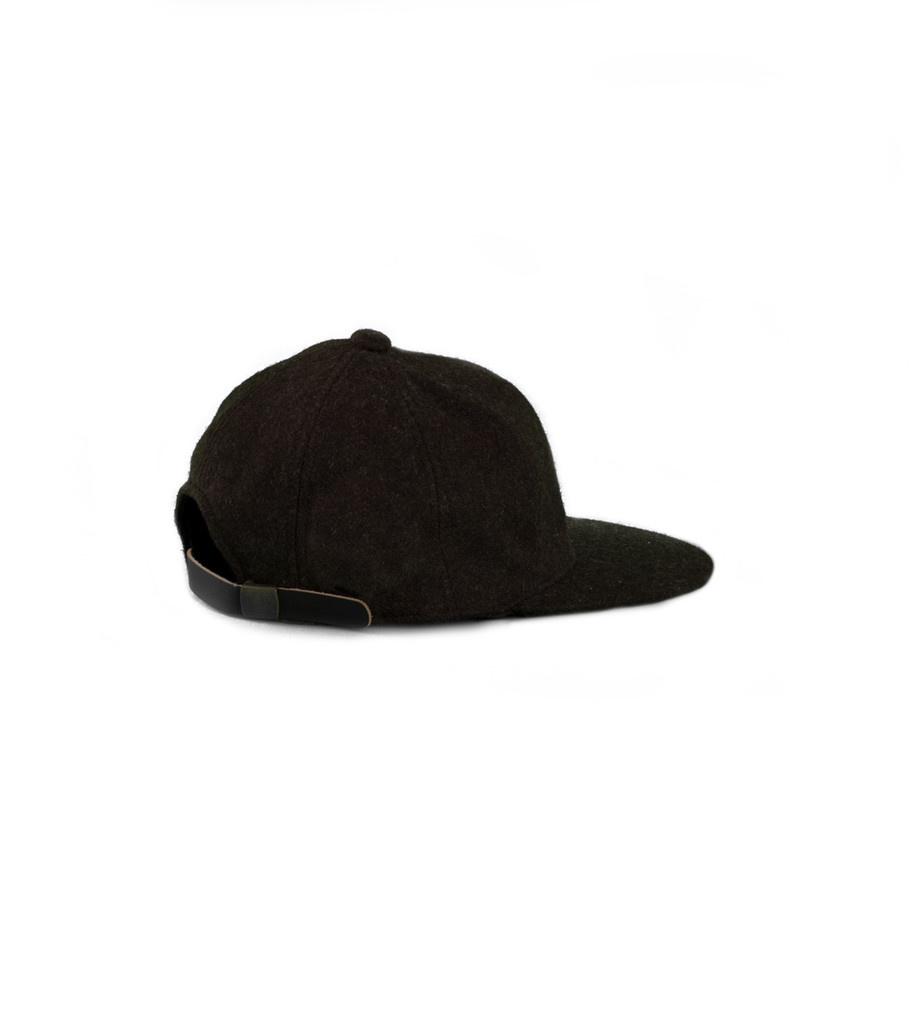 """Wool Blend Cap """"Brown""""-2"""