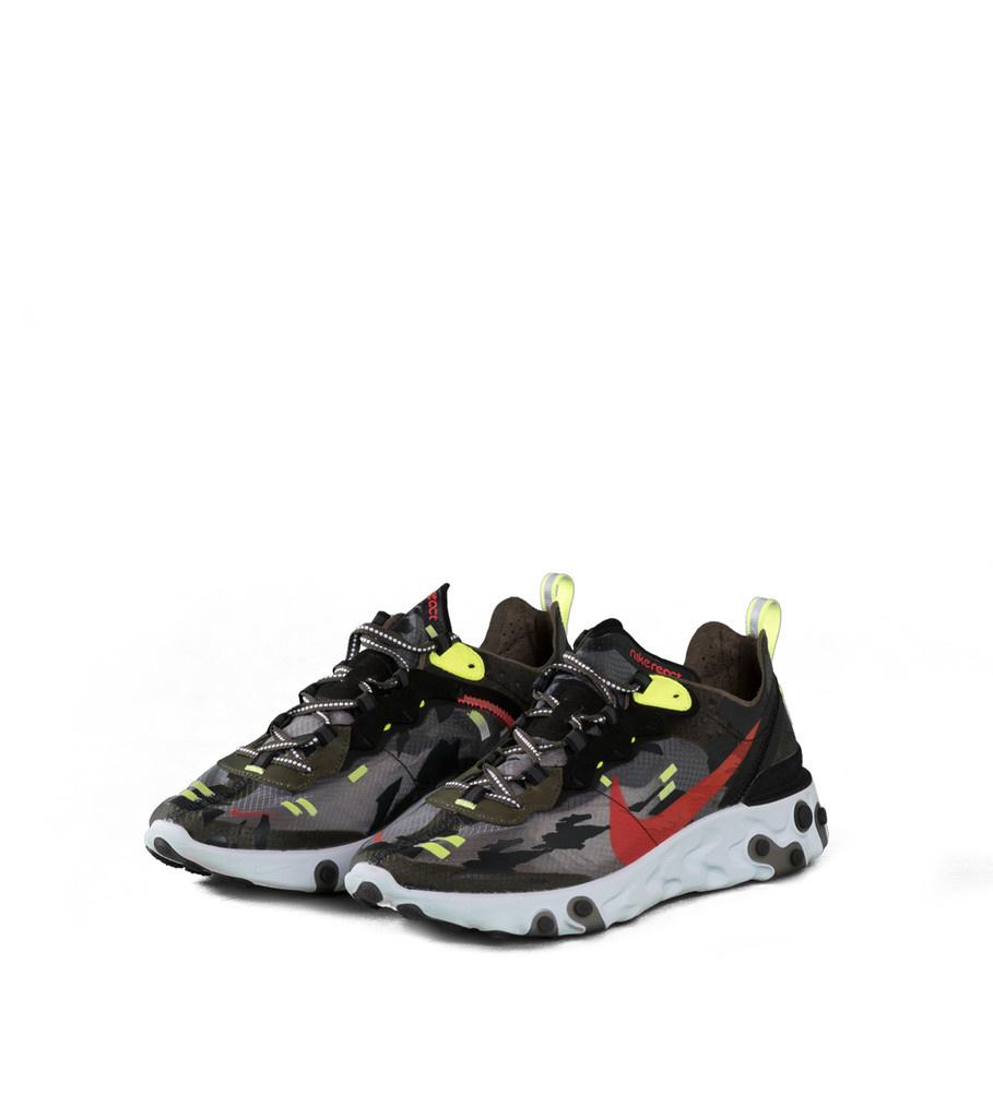 "Nike React Element 87 ""Olive/Crimson"""
