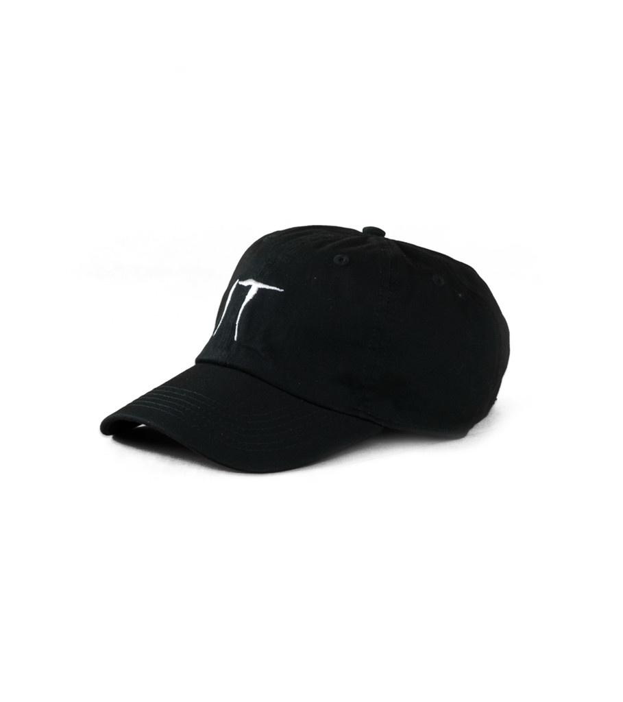 "IT Cotton Cap ""Black/White""-1"