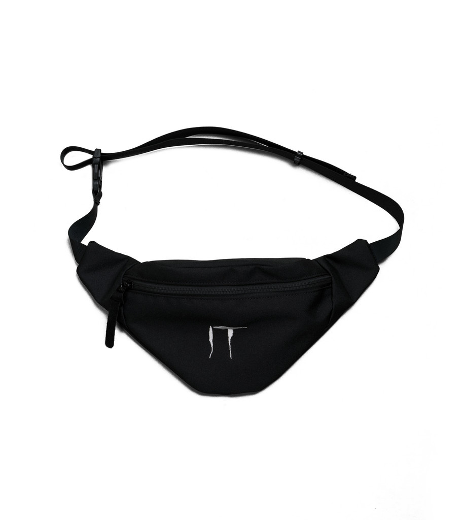 "IT Waist Bag ""Black/White""-1"