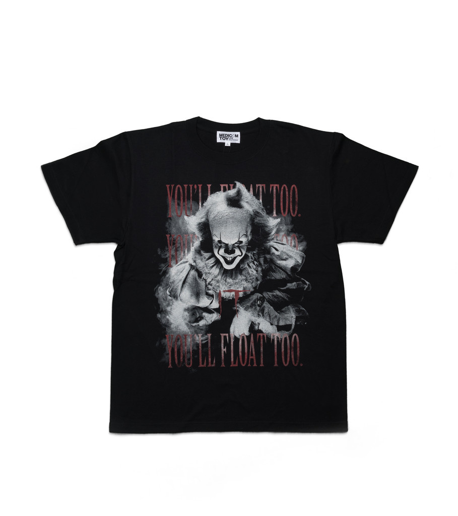 "IT Pennywise 2 Tee ""Black""-1"