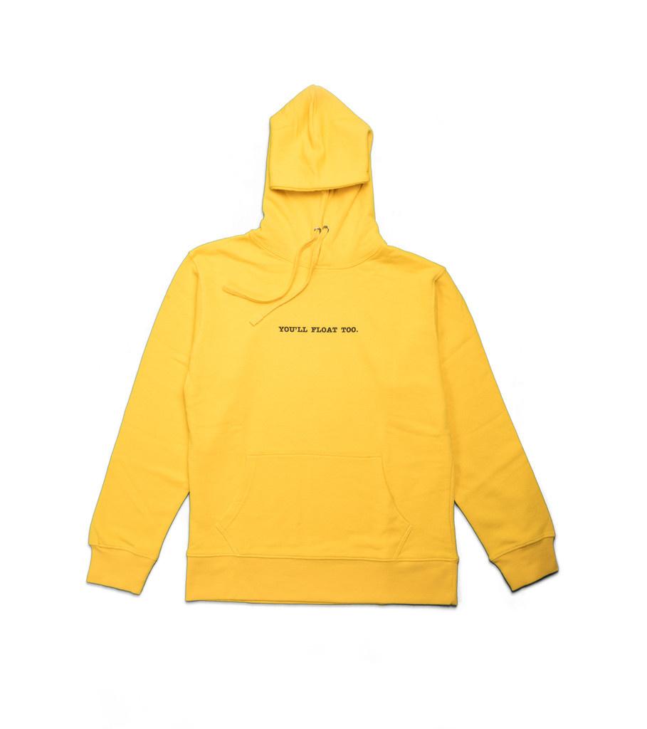 "IT Hoodie ""Yellow""-1"
