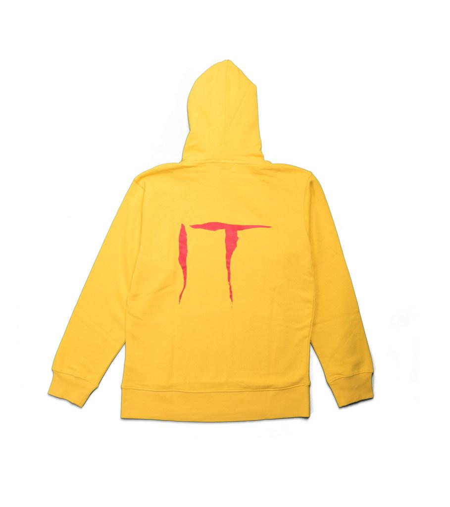 "IT Hoodie ""Yellow""-2"