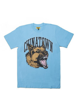 "Chinatown Market Beware Tee ""Light Blue"""