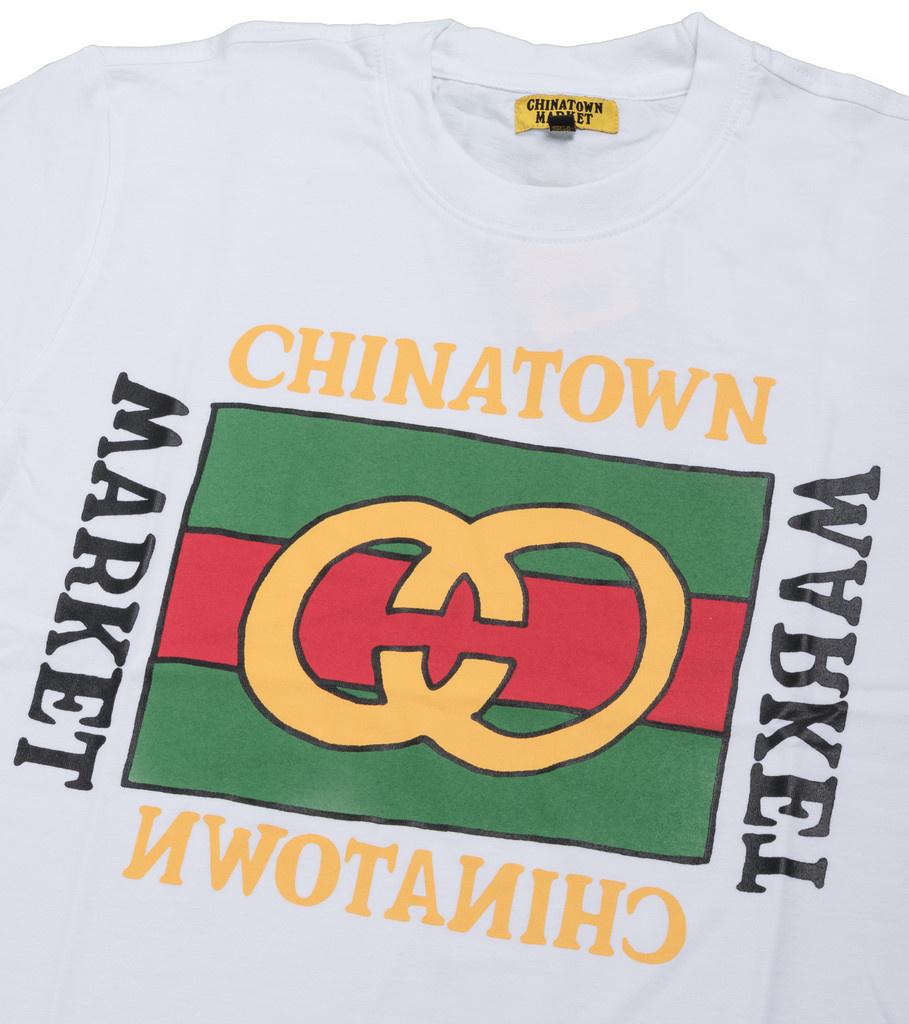 "Chinatown Market Designer Tee ""White"""