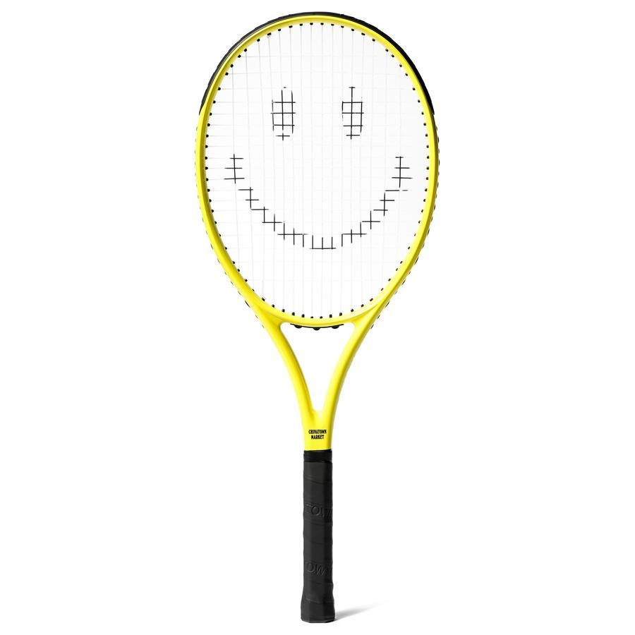 Chinatown Market Smiley Tennis Racket