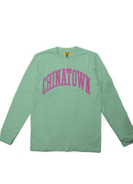 "Chinatown Market ARC LS Tee ""Green"""