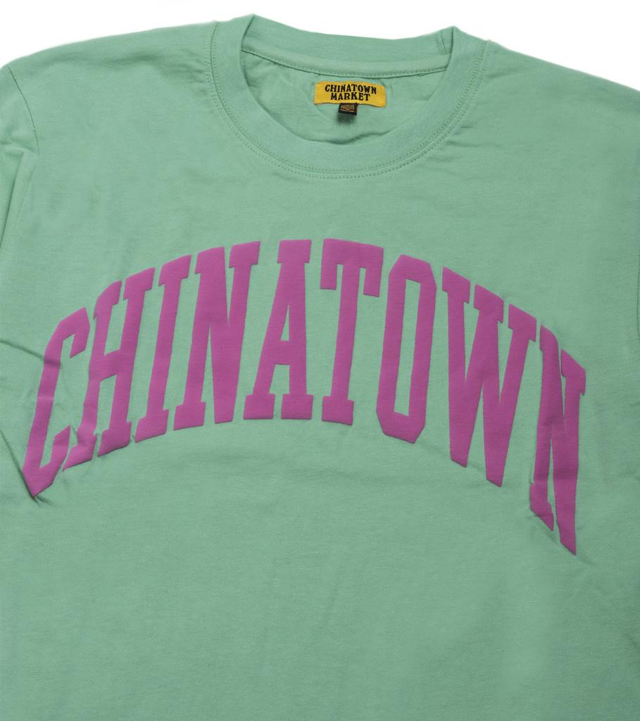 """Chinatown Market ARC LS Tee """"Green"""""""