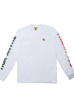 "Chinatown Market Thank You LS Tee ""White"""