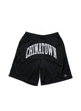 "Chinatown Market Shooter Mesh Shorts ""Black"""