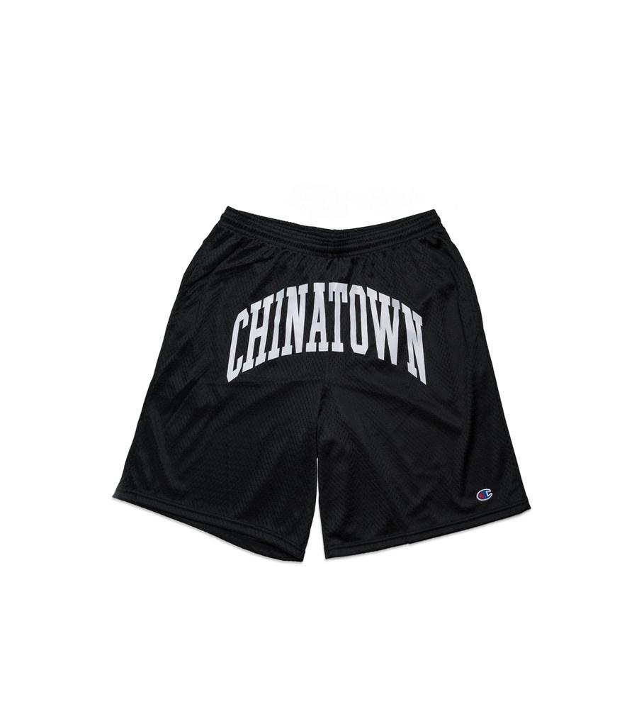 "Chinatown Market Shooter Mesh Shorts ""Black"""