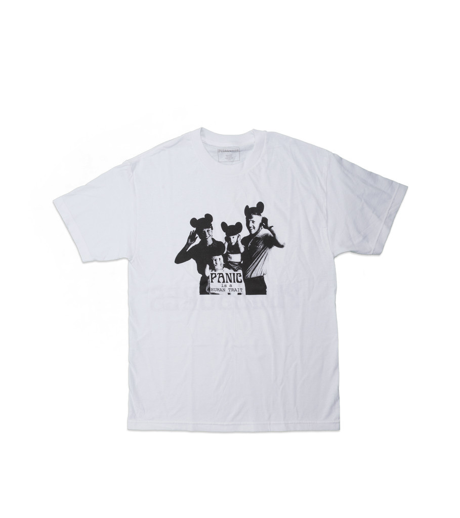 "Pleasures Human Trait Tee ""White"""