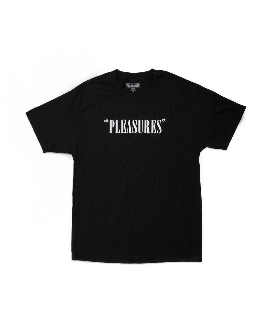 "Pleasures Balance Logo Tee ""Black"""