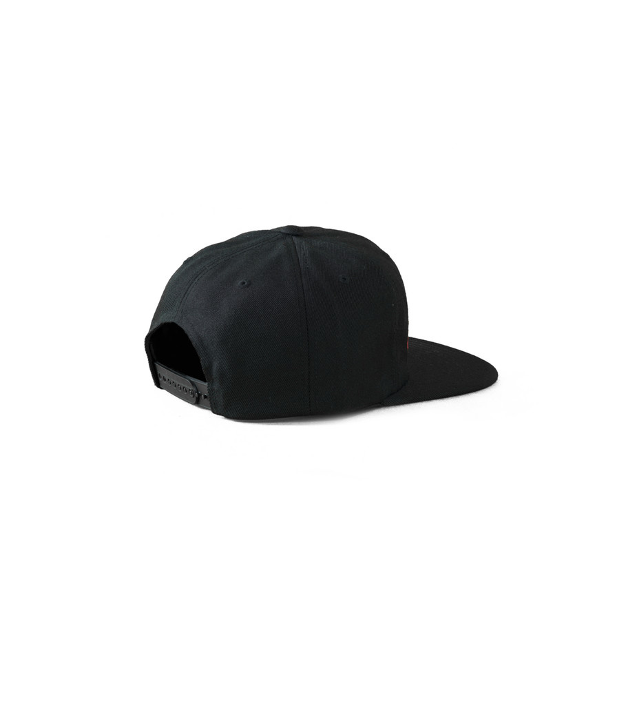 "Old E Snapback Hat ""Black""-2"