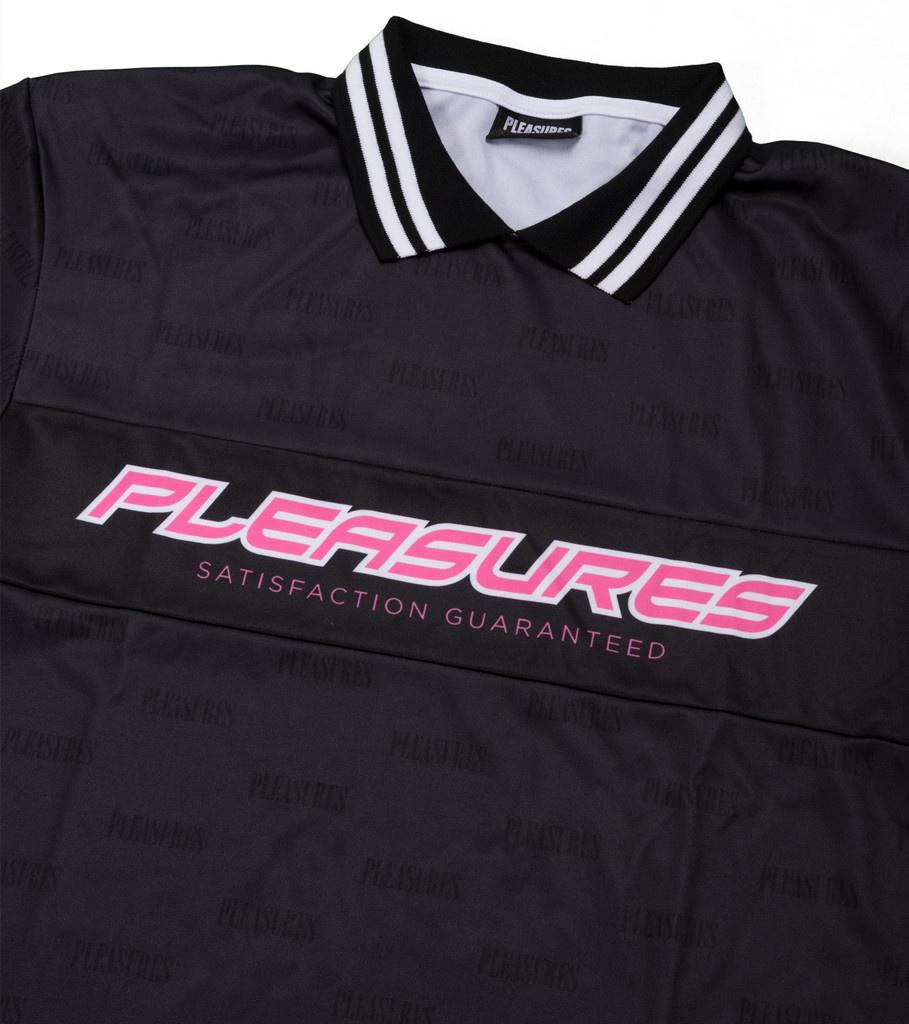 """Pleasures Satisfaction Jersey """"Black"""""""
