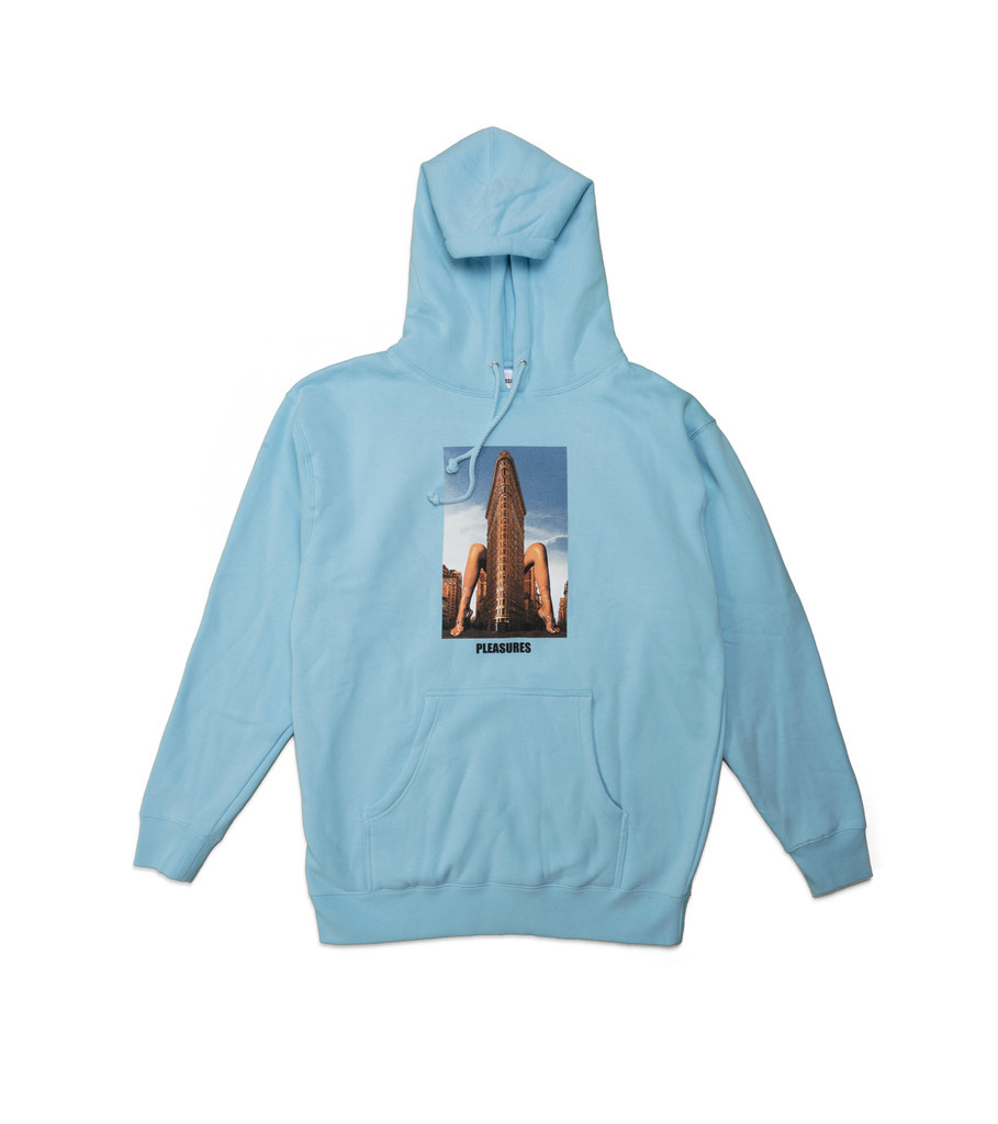 "Pleasures Spread Hoodie ""Powder Blue"""