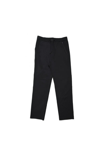 "Y-3 Wool Satin Straight Legs Pants ""Black"""