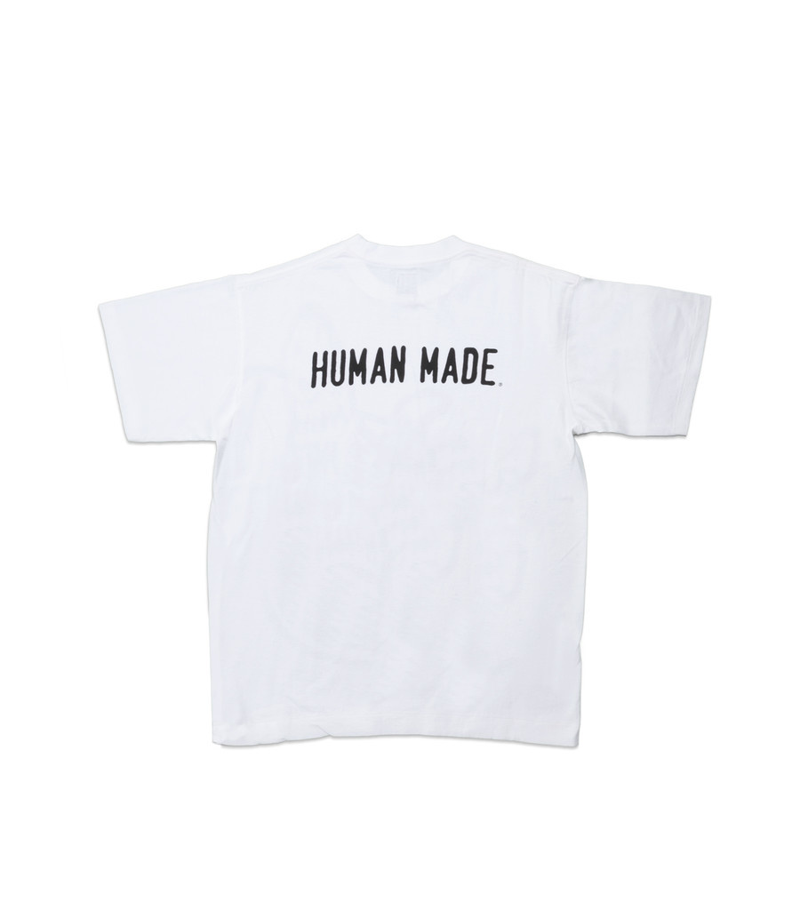 "Human Made Big Print Tee ""White"""
