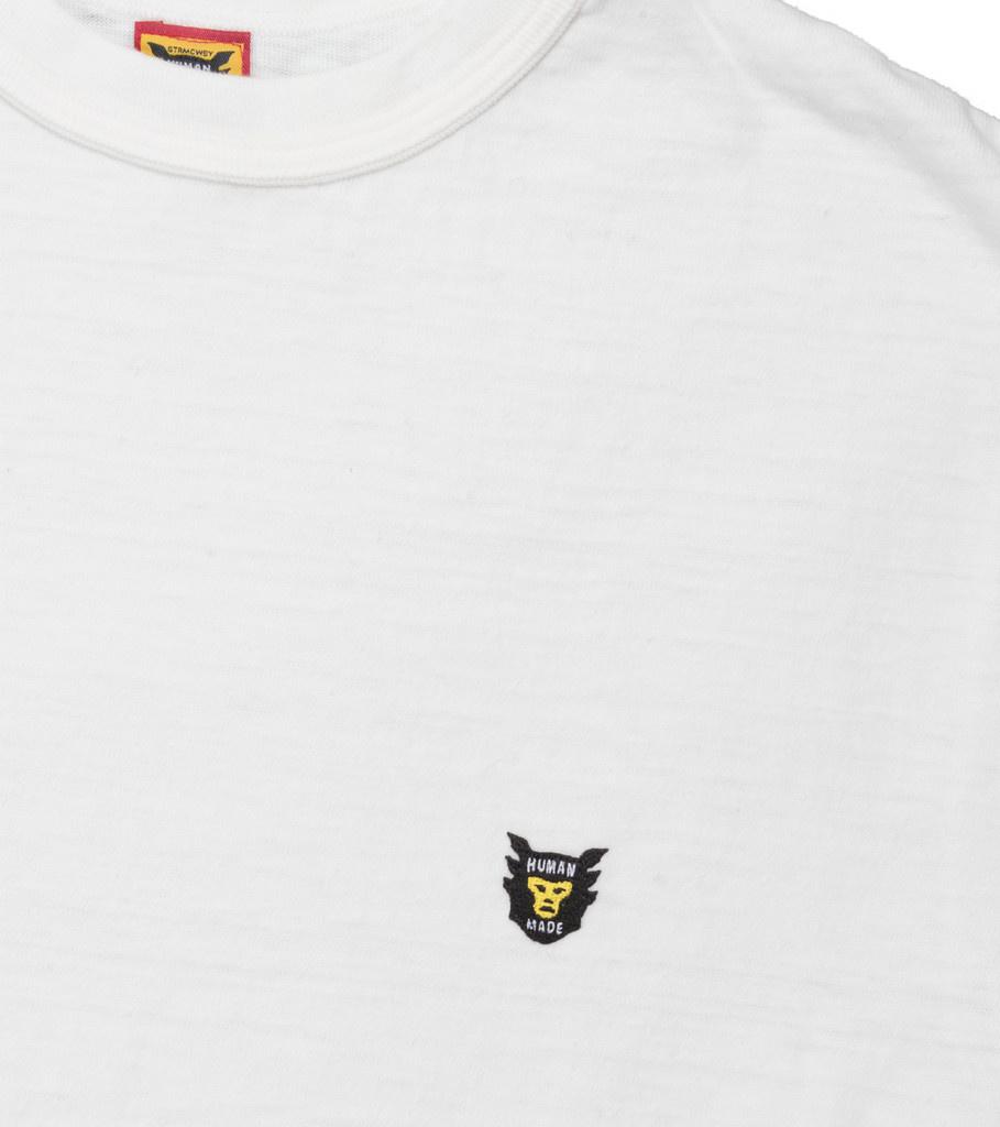 """Human Made Small Logo Tee ♯1313 """"White"""""""