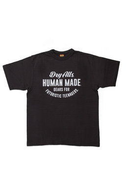 "Human Made Circular Logo Tee ♯1407 ""Black"""