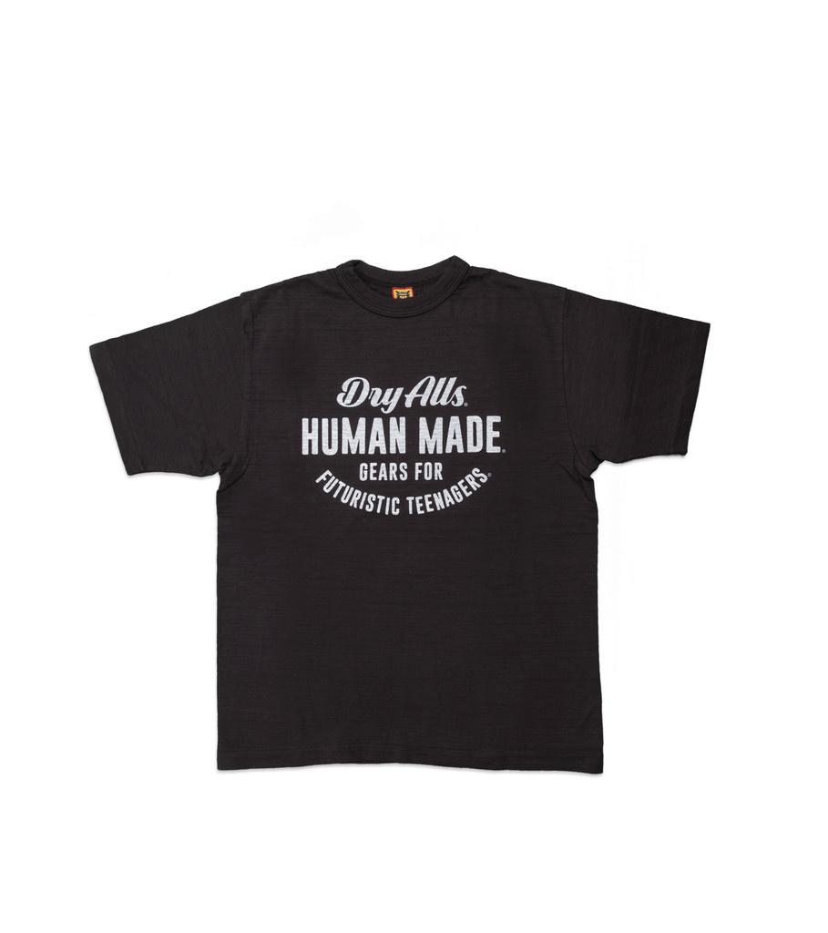 "Human Made Circular Logo Tee ♯1407 ""Black"""