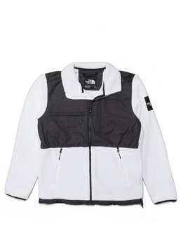 "The North Face Denali Fleece Jacket ""Black/White Reflective"""